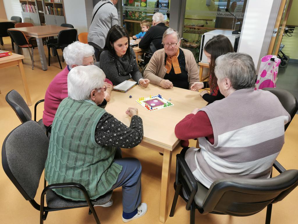 Druženje tijekom volontiranja